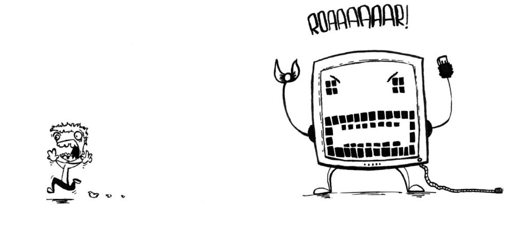 Cartoon van SuperMAARTEN! (Maarten Van Praet, koop aandelen van die man!)